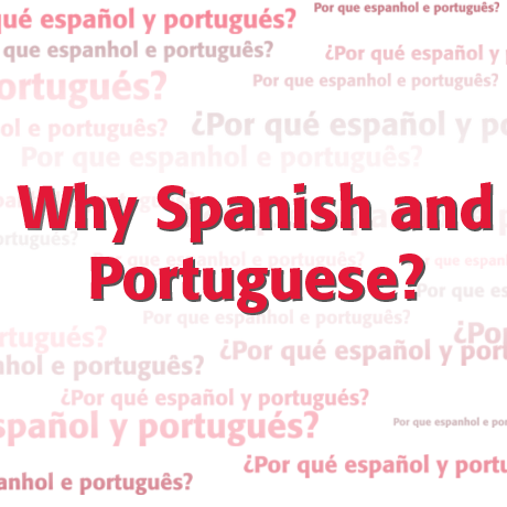 Why Spanish and Portuguese?